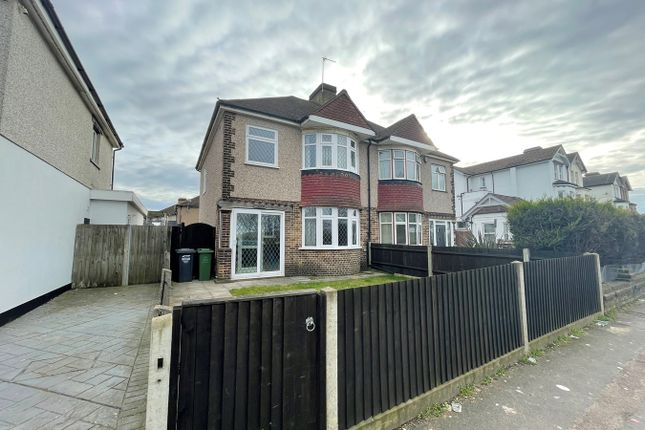 Thumbnail Semi-detached house to rent in London Road, Greenhithe