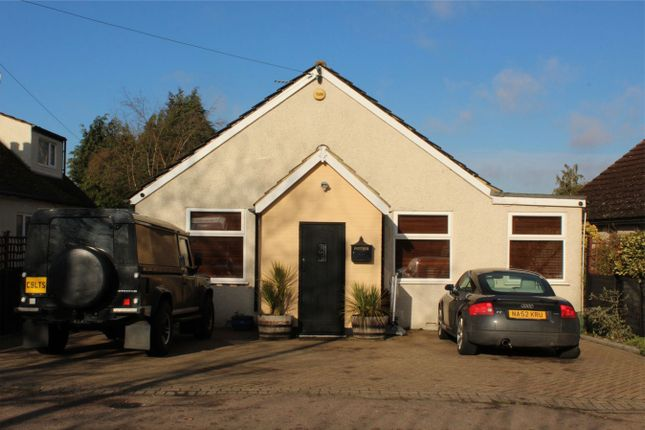 Thumbnail Detached bungalow for sale in Common Road, Waltham Abbey, Essex