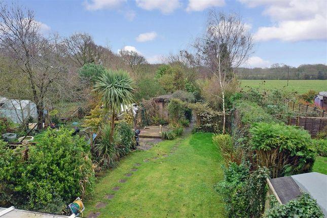 Rear Garden of Lilian Terrace, Poling, Arundel, West Sussex BN18