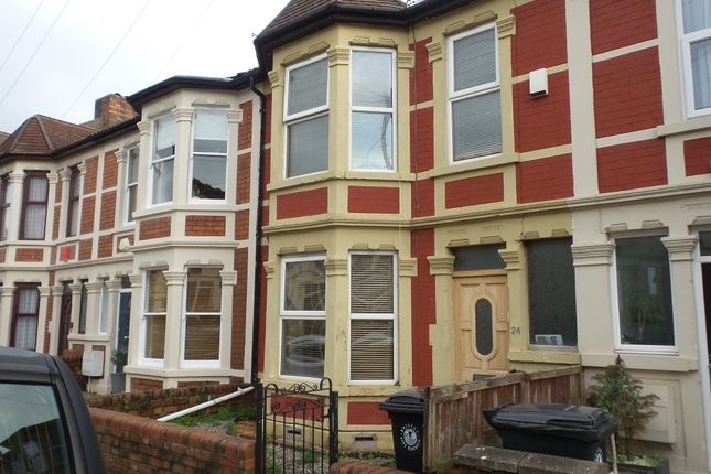 Thumbnail Terraced house to rent in Grove Park Road, Brislington