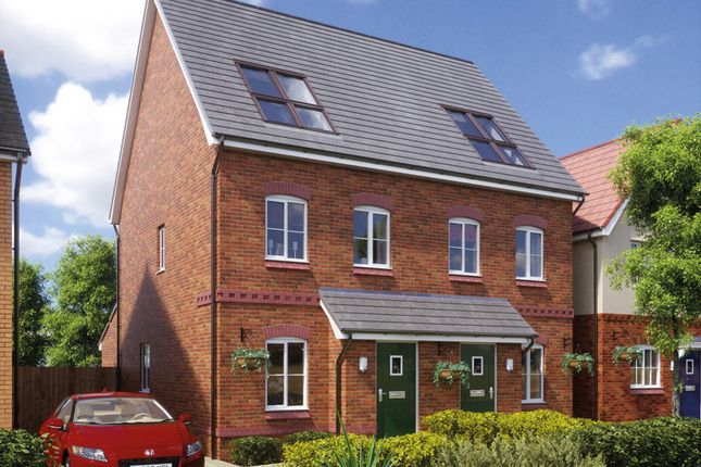 Thumbnail 3 bedroom semi-detached house for sale in West Street, Crewe