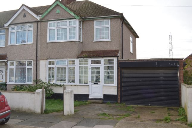 Thumbnail End terrace house to rent in Rothbury Avenue, Rainham