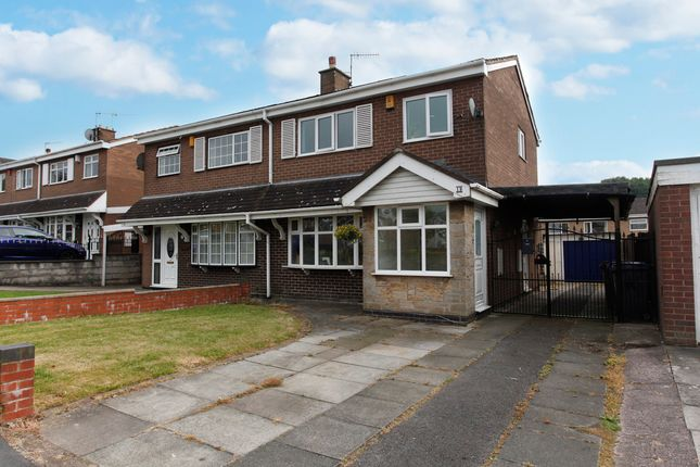 Thumbnail Semi-detached house for sale in Carberry Way, Parkhall, Stoke-On-Trent