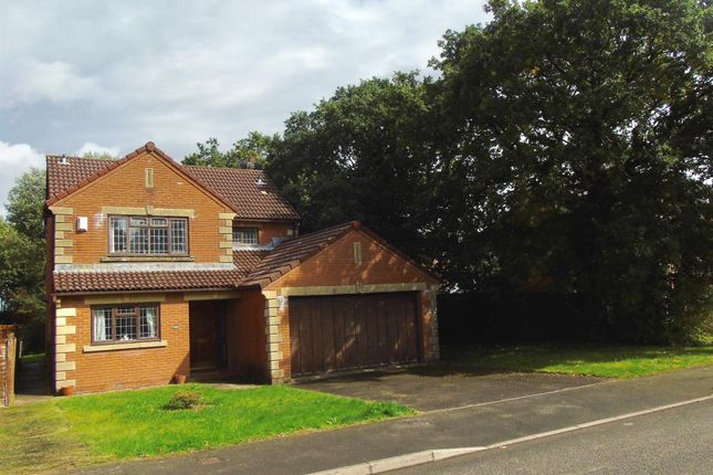 Thumbnail Detached house for sale in Llangorse Drive, Rogerstone, Newport