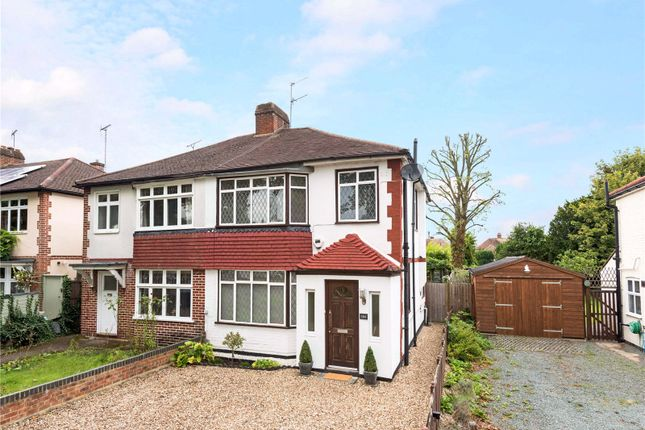 Thumbnail Semi-detached house for sale in Woodham Lane, New Haw, Addlestone, Surrey