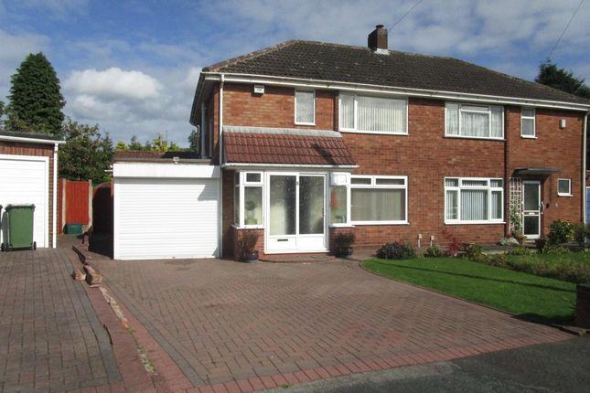 Thumbnail Semi-detached house for sale in Neville Avenue, Goldthorn Hill, Wolverhampton
