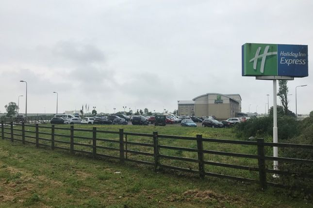 Thumbnail Land for sale in Land Adjacent To Holiday Inn Express, Port Road, Rhoose, Cardiff