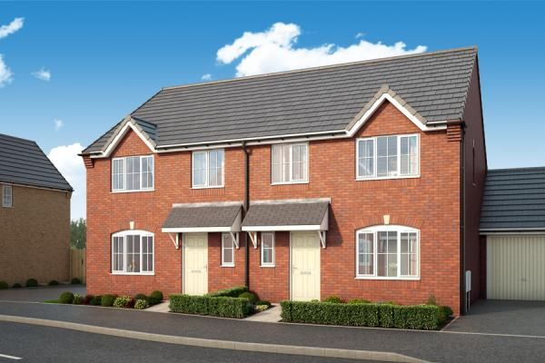 "Thumbnail Property for sale in ""The Laurel At Porthouse Rise, Bromyard, Hereford"" at Porthouse Rise, Bromyard"