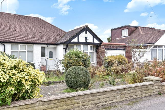 Thumbnail Semi-detached bungalow for sale in Haslemere Avenue, Barnet