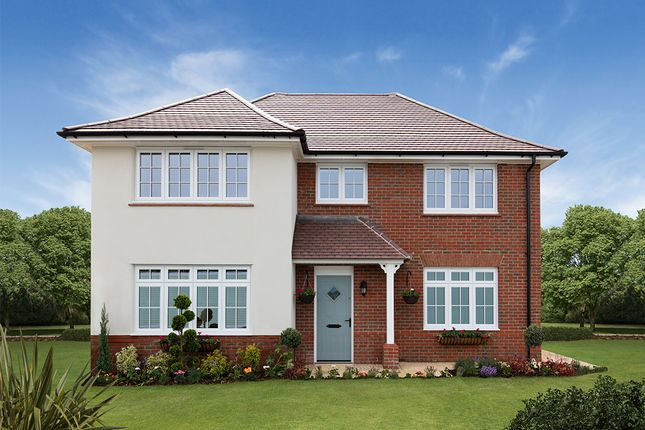 "Thumbnail Detached house for sale in ""Shaftesbury"" at Church Road, Webheath, Redditch"