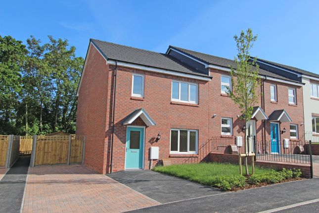3 bed end terrace house for sale in Plot 7, Bowling Green View, Cullompton, Devon
