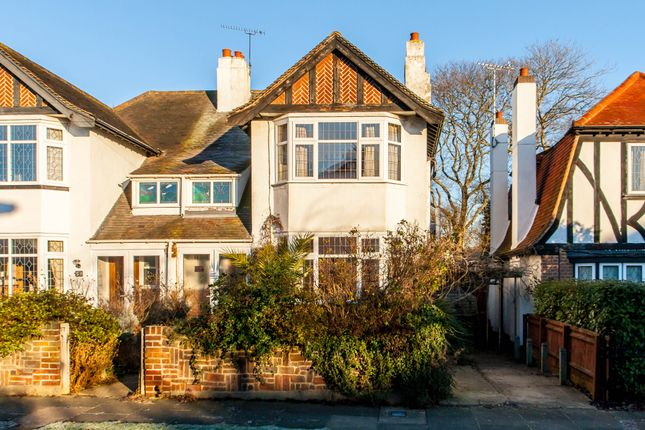 Thumbnail Semi-detached house for sale in St Davids Drive, Leigh-On-Sea