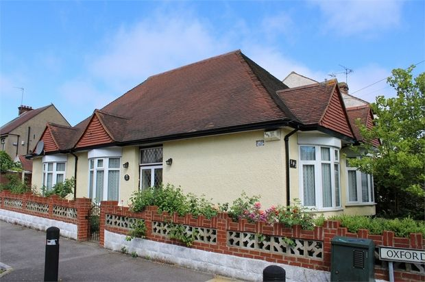 Thumbnail Detached bungalow for sale in Barnsole Road, Gillingham, Kent