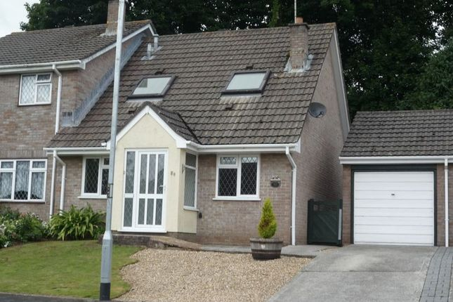 Thumbnail Semi-detached bungalow to rent in Trevanion Road, Liskeard