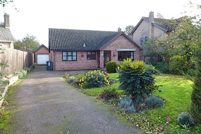 Thumbnail Detached bungalow for sale in Marlborough Close, Yaxley, Peterborough