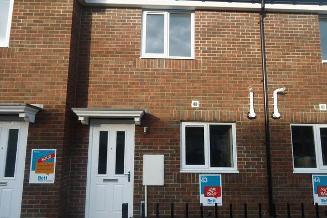 Thumbnail Terraced house for sale in Redworth Mews, Ashington