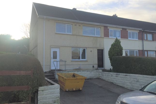 Thumbnail Semi-detached house to rent in Moorland Road, Cimla, Neath