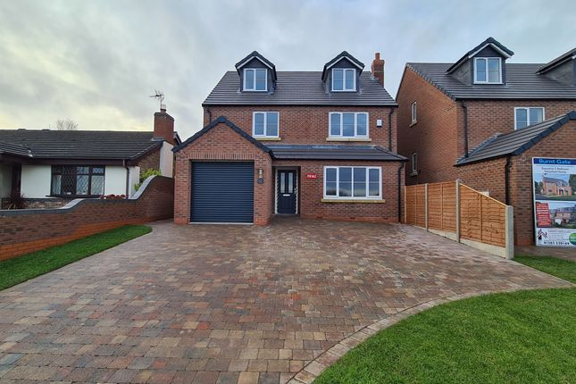 Thumbnail Detached house for sale in Burnt Gate House, Hopley Road, Anslow, Burton-On-Trent