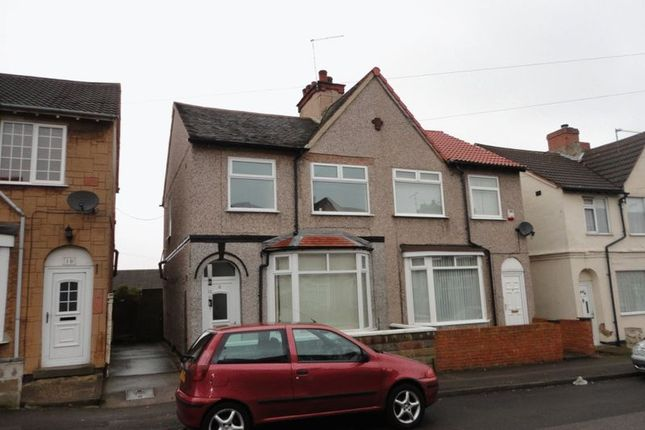 Thumbnail Semi-detached house to rent in Somersall Street, Mansfield