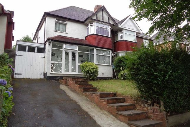 Thumbnail Semi-detached house for sale in Lindale Avenue, Hodge Hill, Birmingham