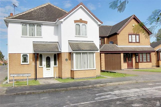 Thumbnail Detached house to rent in Chatsworth Close, Bolsover, Chesterfield, Derbyshire