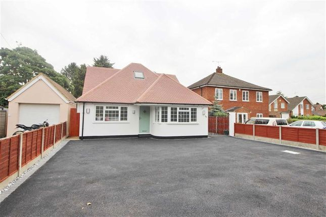 Thumbnail Detached bungalow for sale in Station Road, St Albans, Herts