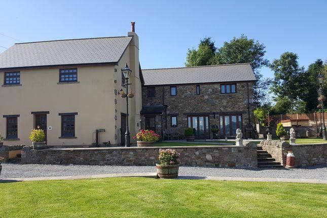 Thumbnail Farmhouse for sale in Twmballyn, Llanelly Hill, Abergavenny