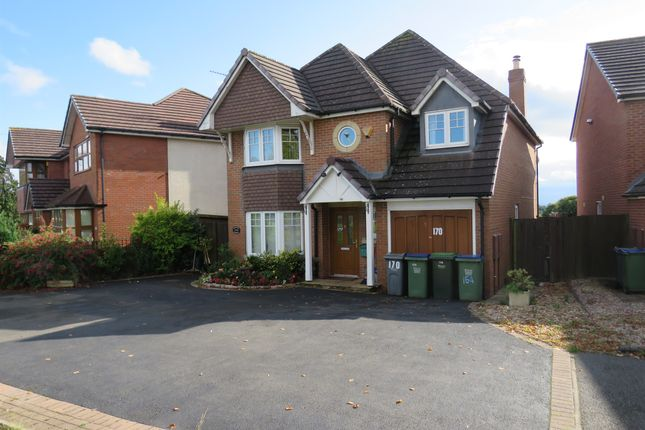 Thumbnail Detached house for sale in Oakham Road, Tividale, Oldbury