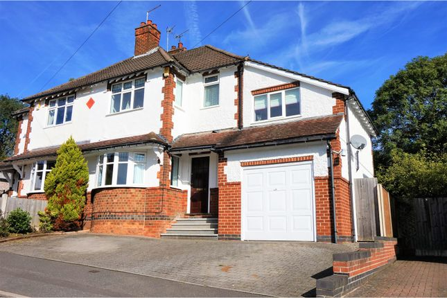 Thumbnail Semi-detached house for sale in Devonshire Avenue, Derby