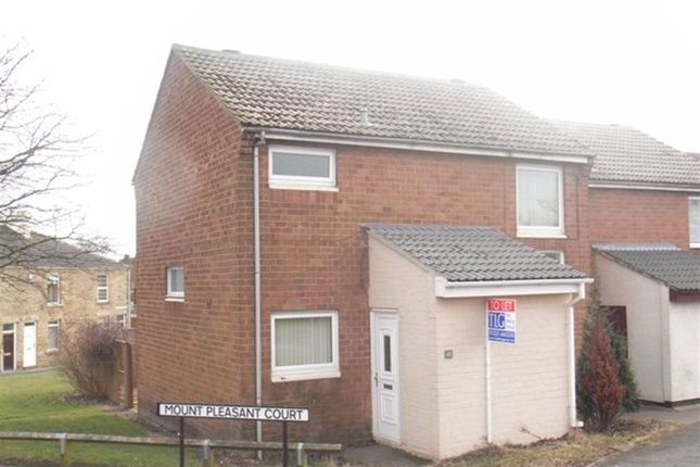 Thumbnail Terraced house to rent in Mount Pleasant Court, Spennymoor