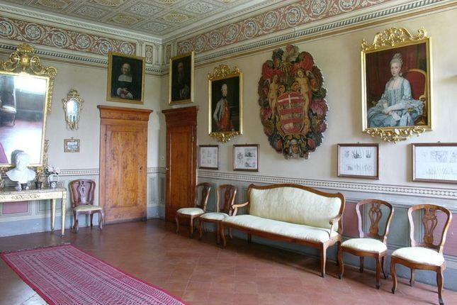 Hallway of Villa Fontana, Cortona, Tuscany