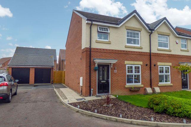 Thumbnail Semi-detached house for sale in Stanegate, Hebburn