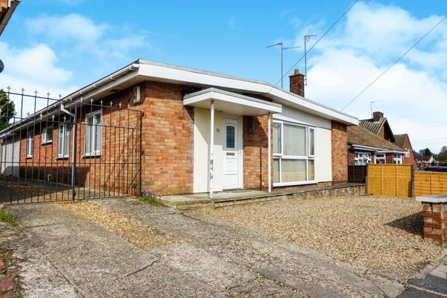 Thumbnail Detached bungalow for sale in St. Marys Road, Kettering