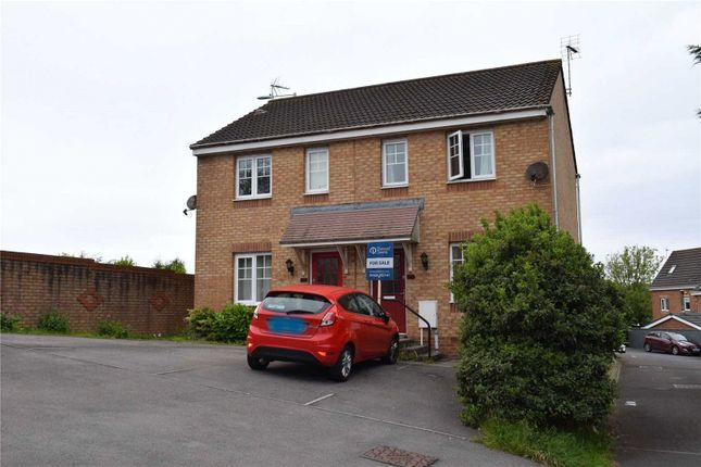 Thumbnail Semi-detached house for sale in Dol Hir, North Cornelly, Bridgend
