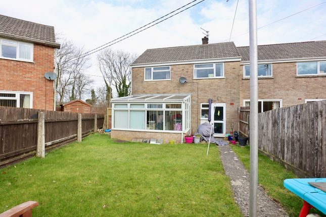 2 bed end terrace house for sale in Pinewood Way, North Colerne, Chippenham, Wiltshire SN14