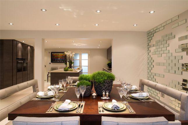 Dining of Warwick Place, Little Venice, London W9