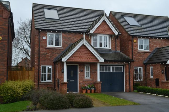 Thumbnail Detached house for sale in Cherry Tree Close, Charnock Richard, Chorley