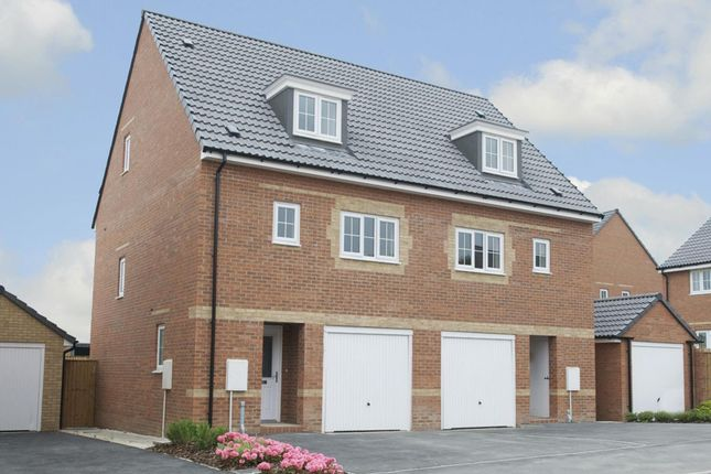 """Thumbnail Semi-detached house for sale in """"Wetherby"""" at Laughton Road, Thurcroft, Rotherham"""