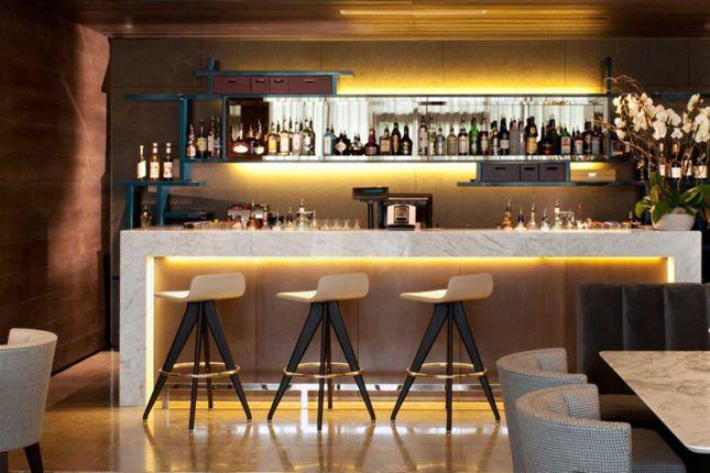 Residents' Bar of Milton Court, London EC2Y