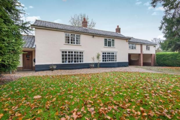 Thumbnail Property for sale in The Street, Caston, Attleborough