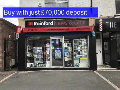Thumbnail Retail premises for sale in WA11, Rainford, Merseyside