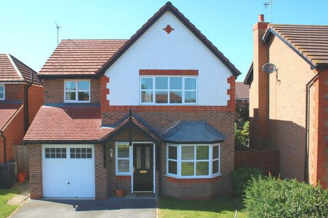 Thumbnail Detached house to rent in Clos Beaumaris, Bodelwyddan, Rhyl