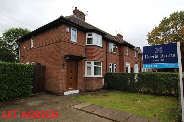 2 bed end terrace house to rent in Tudor Road, York, North Yorkshire YO24