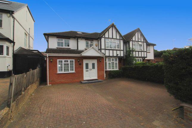 Thumbnail Semi-detached house for sale in Cat Hill, East Barnet, Barnet