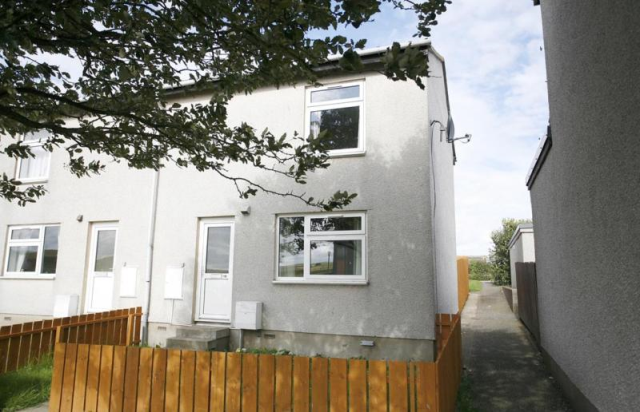 Thumbnail End terrace house to rent in Claymore Crescent, Boddam AB42,