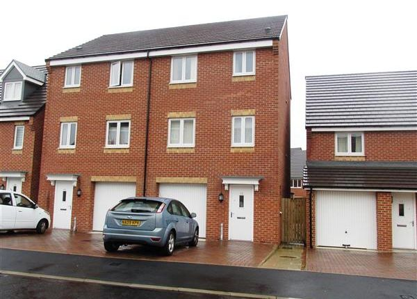 Thumbnail Town house for sale in Brookville Crescent, West Denton, Newcastle Upon Tyne