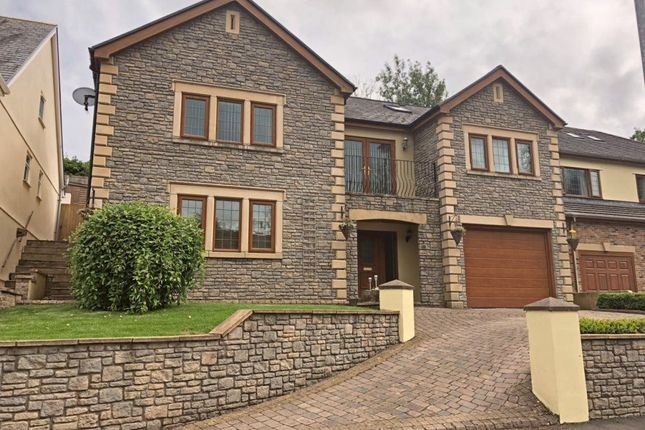 Thumbnail Detached house to rent in Neath Road, Resolven, Neath