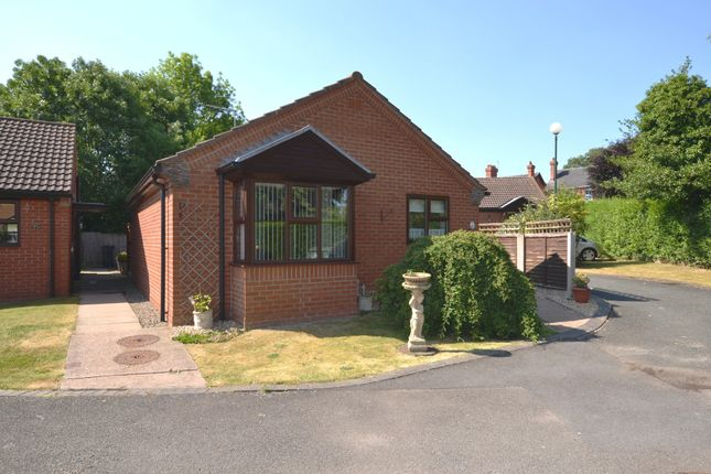 Thumbnail Detached bungalow for sale in Goosefields Close, Market Drayton