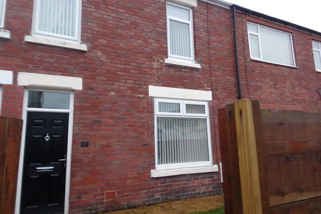 Thumbnail Terraced house to rent in Woodhorn Road, Ashington