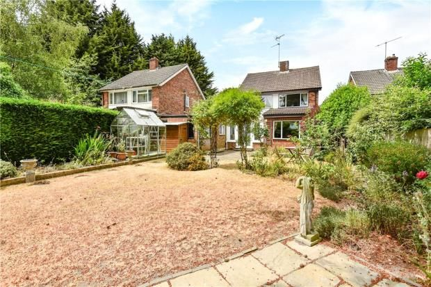Thumbnail Link-detached house for sale in Oakfield Road, Blackwater, Surrey